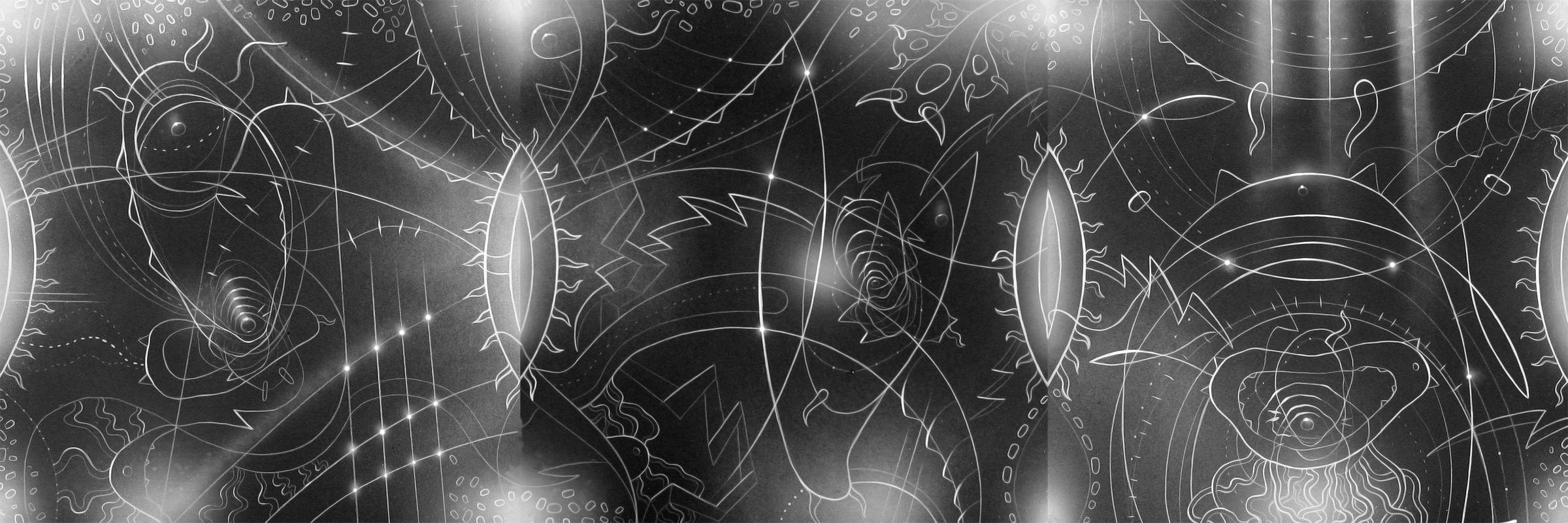 Disegno originale luce in plexiglas