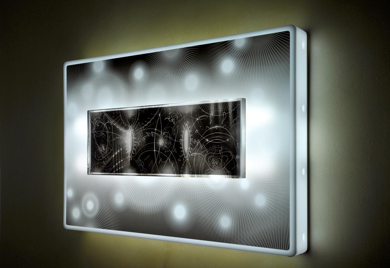 Light on Plexiglas Neon Lights