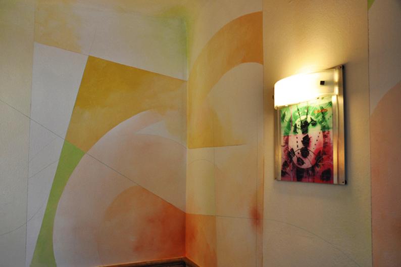 decorazioni artistiche per locali