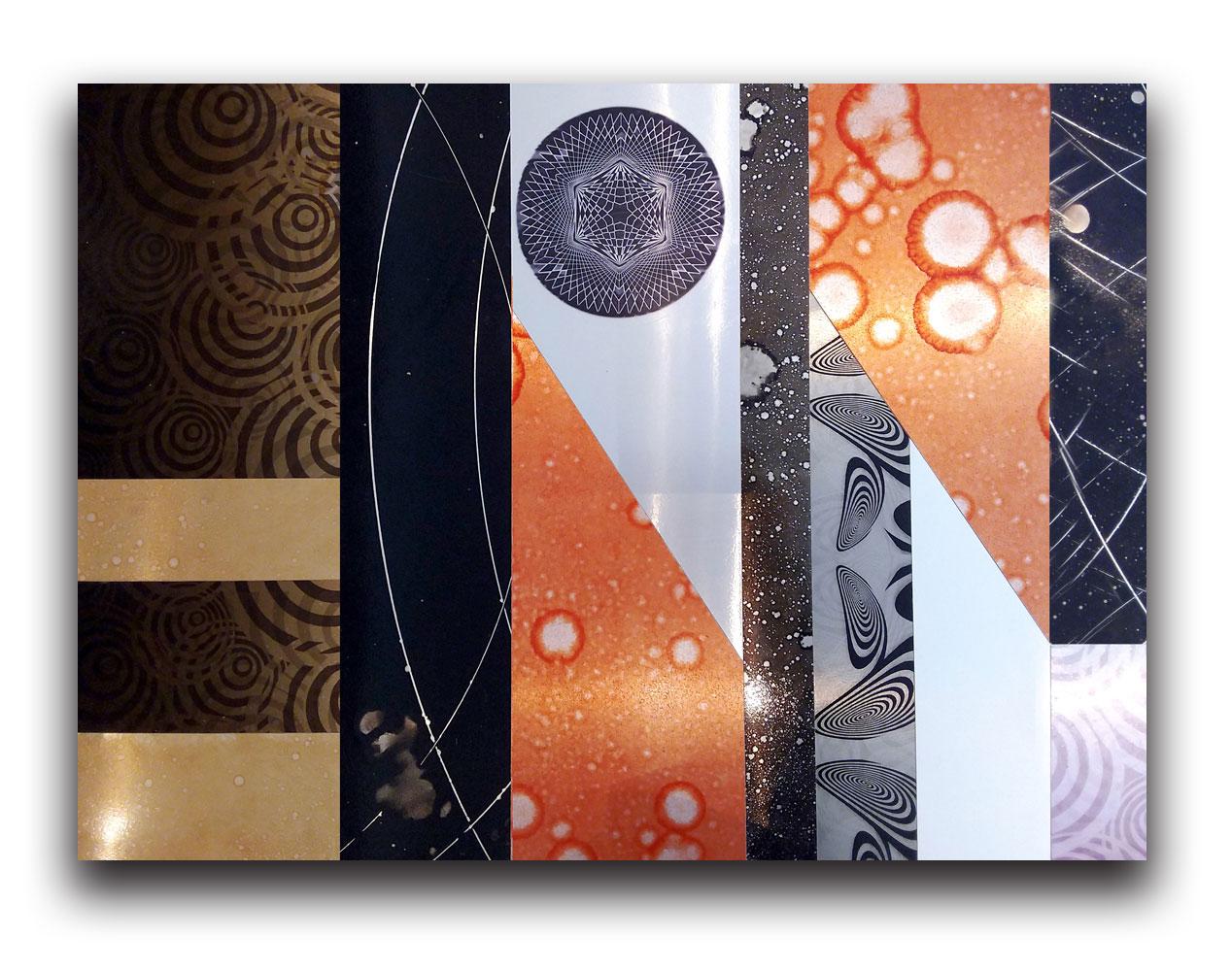 pannelli-in-metallo-decorati-a-mano- in vendita 4