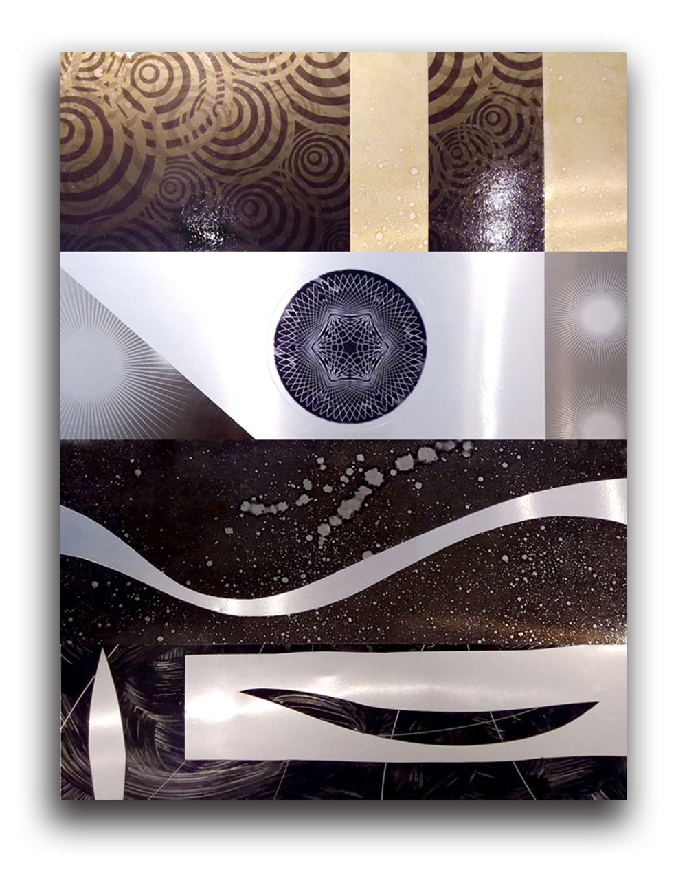 pannelli-in-metallo-decorati-a-mano- in vendita 5